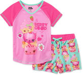 Asstd National Brand 2-pc. Shorts Pajama Set Girls