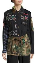 Marc Jacobs Belted Military Jacket