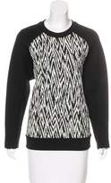 Proenza Schouler Long Sleeve Printed Sweatshirt