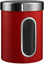 Wesco Kitchen Storage Canister with Window - Red