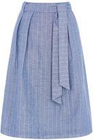 Oasis Stripe Midi Skirt