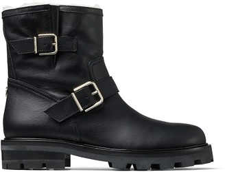 Jimmy Choo shearling-lined Youth II boots