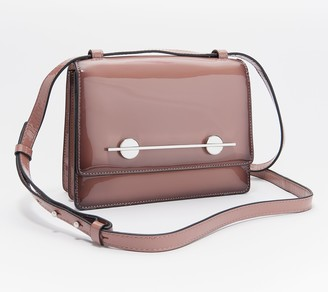 Vince Camuto Patent Leather Crossbody - Maeve