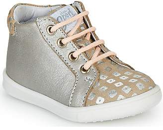 GBB FAMIA girls's Shoes (High-top Trainers) in Beige