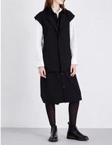 Yohji Yamamoto Waistcoat-detail wool shirt