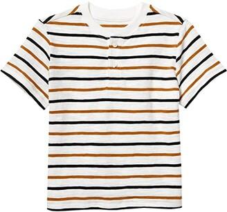 Janie and Jack Henley Tee (Toddler/Little Kids/Big Kids) (Multi) Boy's Clothing