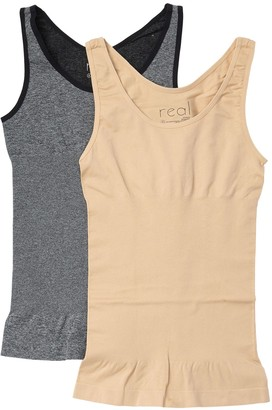 Real Underwear Lucy Shaping Tank Top - Pack of 2