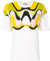 Emilio Pucci wave print T-shirt