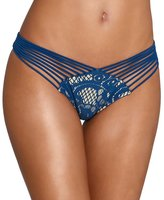 Luli Fama Wanted And Wild Strappy Brazilian Ruched Bottom, S
