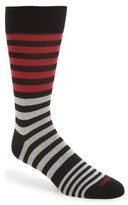 Lorenzo Uomo Men's Stripes Socks