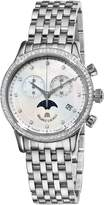 Maurice Lacroix Women's LC1087-SD502160 Les Classiques Quartz Mother-Of-Pearl Diamond Chronograph Dial Watch