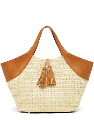 Sole Society Ebba Straw Tote