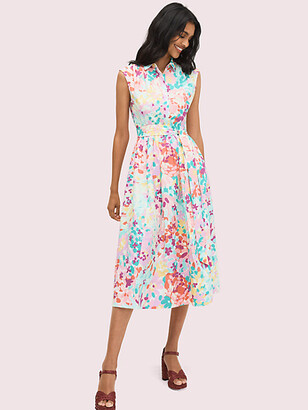 Kate Spade Painted Petals Shirtdress
