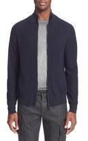 Belstaff Men's 'Latham' Merino Wool Zip Front Pullover