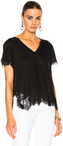 Helmut Lang Lace Tee