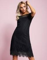 Vila Lace Dress With Slip