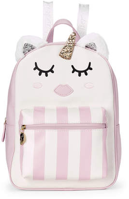 Betsey Johnson Luv Betsey By White & Pink Maggie Unicorn Backpack