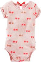 Osh Kosh Oshkosh Sunglasses Print Bodysuit - Baby Girls newborn-24m