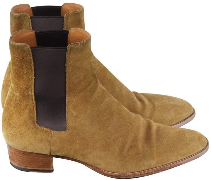 f04a89f4b24 Saint Laurent Men's Boots | over 400 Saint Laurent Men's Boots | ShopStyle