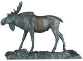 Ok Casting Bull Moose Sculpture