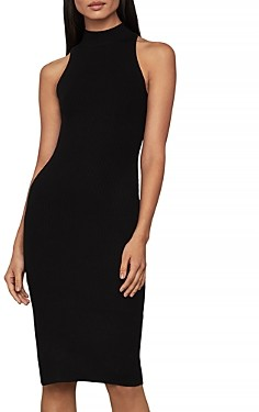 BCBGMAXAZRIA Mock Neck Bodycon Dress