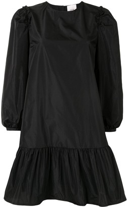 Cinq à Sept Ruffled Sleeve Mini Dress