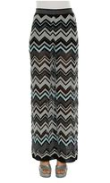 M Missoni Flare Knitted Trousers