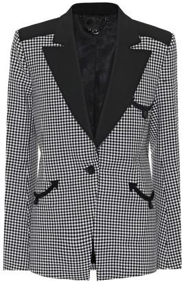 Paco Rabanne Houndstooth wool blazer
