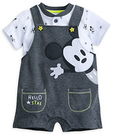 Disney Mickey Mouse Layette Dungaree Set for Baby