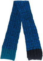 Paul Smith twisted cable scarf