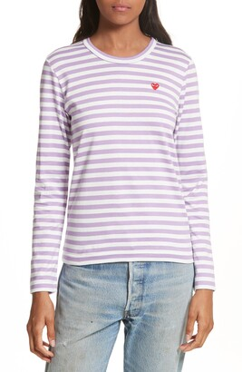 Comme des Garcons Stripe Long Sleeve T-Shirt