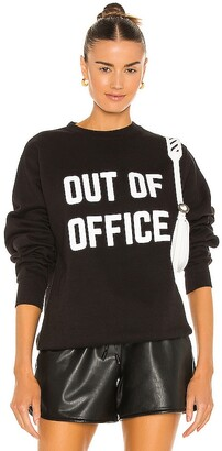 DEPARTURE Out Of Office Crew Neck Sweatshirt