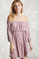 Forever 21 Contemporary Belted Dress