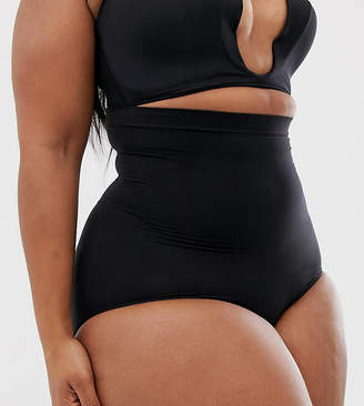 Spanx curve higher power panties-Black