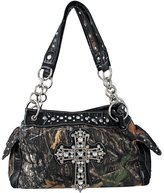 Things2Die4 Camouflage Studded Rhinestone Cross Purse