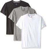 Hanes Men's 3-Pack Comfort Blend Dyed Crew, Assorted, X-Large