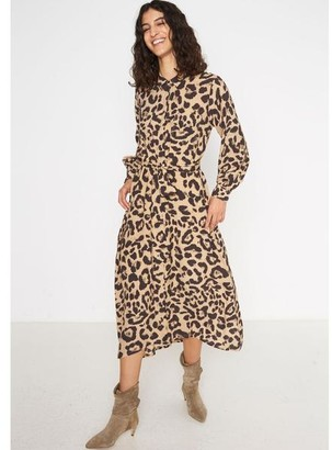 Swildens Alizee Leopard Dress - EU36 UK8