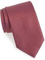Ermenegildo Zegna Men's Dot & Grid Silk Tie