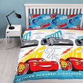 "Disney 3 Repeat Print Design ""Lightning"" Duvet Set, Multi-Colour, Double"