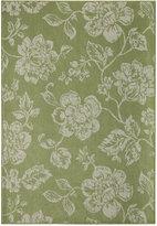 """Momeni Breezeway Indoor/Outdoor Floral 5'3"""" x 7'6"""" Area Rug"""
