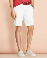 "Brooks Brothers Garment-Dyed Stretch Chino 9"" Shorts"