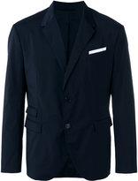 Neil Barrett pocket square blazer - men - Polyester/Spandex/Elastane/Viscose - 50