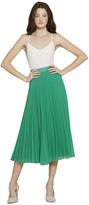 Essie Pleated Midlength Skirt