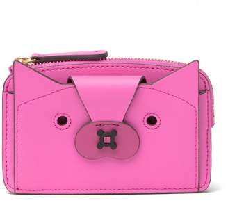 Anya Hindmarch Fox Leather Boxy Compact Wallet