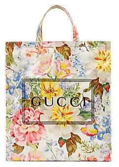 Gucci Men's Monte Carlo Crystal Flower Print Tote
