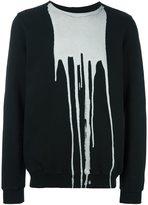 Rick Owens bleached effect sweatshirt