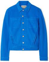 L'Agence Celine Denim Jacket - Blue