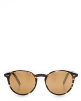 Oliver Peoples Elins Mirrored Sunglasses