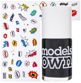 Models Own Sticky Fingers Polish & Stickers