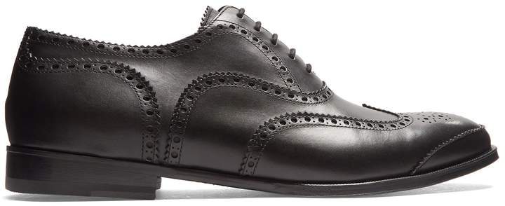 Alexander McQueen Lace-up leather brogues
